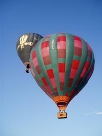 Balloon rides over Sussex